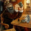 –The watch-maker–oil on canvas80x60cm. Original